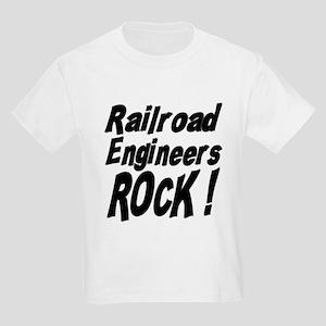 Railroad Engineers Rock ! Kids Light T-Shirt