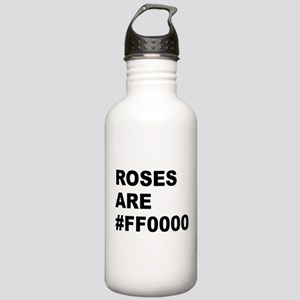 Roses Are #FF0000 Stainless Water Bottle 1.0L