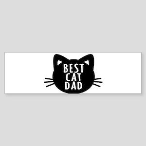 Best Cat Dad Bumper Sticker