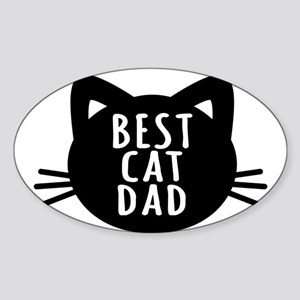Best Cat Dad Sticker