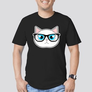Cute Hipster Cat with Glasses T-Shirt