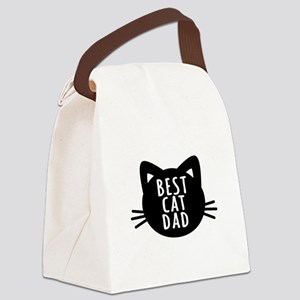 Best Cat Dad Canvas Lunch Bag