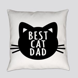 Best Cat Dad Everyday Pillow