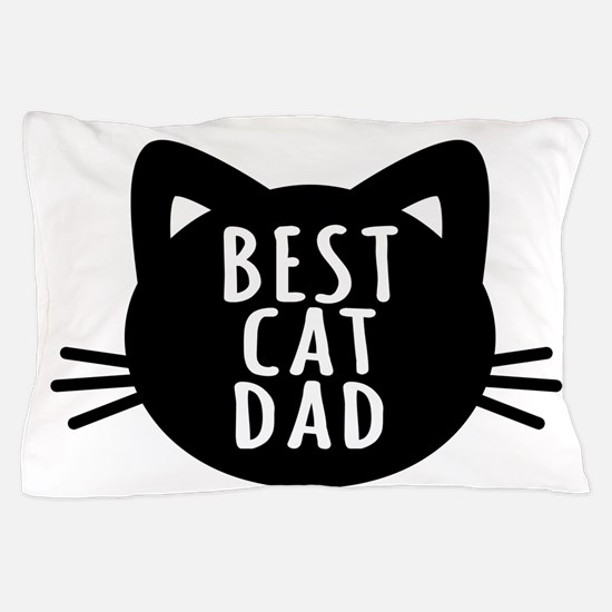 Best Cat Dad Pillow Case