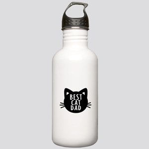 Best Cat Dad Water Bottle