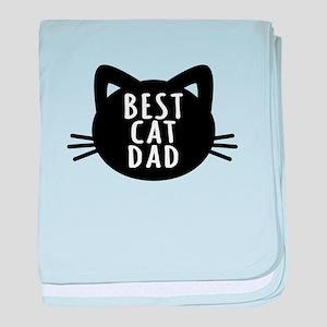Best Cat Dad baby blanket