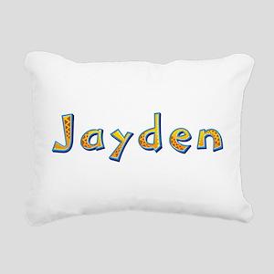 Jayden Giraffe Rectangular Canvas Pillow