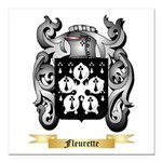 Fleurette Square Car Magnet 3