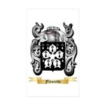 Fleurette Sticker (Rectangle 50 pk)