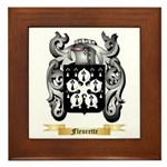 Fleurette Framed Tile