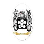 Fleuret Oval Car Magnet