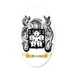 Fleurelle Oval Car Magnet