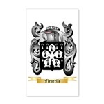 Fleurelle 35x21 Wall Decal