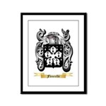 Fleurelle Framed Panel Print