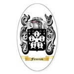 Fleureau Sticker (Oval 50 pk)