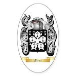 Fleur Sticker (Oval 50 pk)