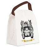Fleur Canvas Lunch Bag