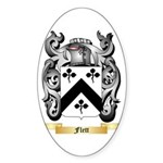 Flett Sticker (Oval 50 pk)
