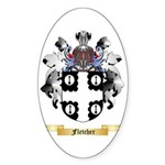 Fletcher Sticker (Oval 50 pk)