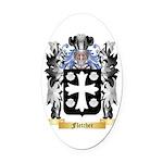 Fletcher (Scotland) Oval Car Magnet