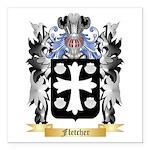 Fletcher (Scotland) Square Car Magnet 3