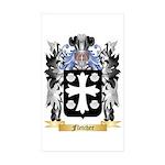 Fletcher (Scotland) Sticker (Rectangle 10 pk)