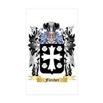 Fletcher (Scotland) Sticker (Rectangle 50 pk)