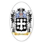 Fletcher (Scotland) Sticker (Oval 10 pk)
