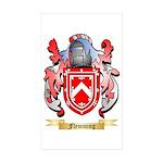 Flemming Sticker (Rectangle 50 pk)