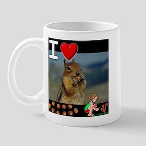 I Love Feeding Squirrels Mug