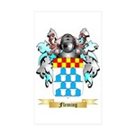Fleming Sticker (Rectangle 50 pk)