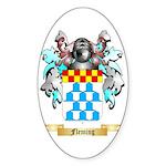 Fleming Sticker (Oval 10 pk)