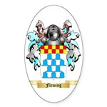 Fleming Sticker (Oval 50 pk)