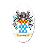 Fleming 35x21 Oval Wall Decal