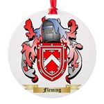 Fleming 2 Round Ornament