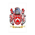 Fleming 2 Sticker (Rectangle 50 pk)