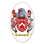 Fleming 2 Sticker (Oval)