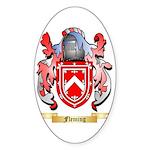 Fleming 2 Sticker (Oval 50 pk)