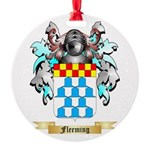 Fleeming Round Ornament