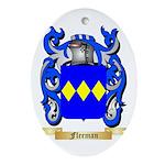 Fleeman Ornament (Oval)