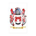 Flavin Sticker (Rectangle 50 pk)