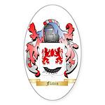 Flavin Sticker (Oval)