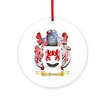 Flavin Ornament (Round)