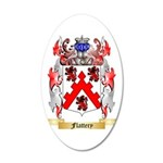 Flattery 35x21 Oval Wall Decal