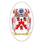 Flatley Sticker (Oval 50 pk)