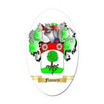 Flannery Oval Car Magnet