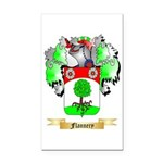 Flannery Rectangle Car Magnet