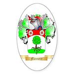 Flannery Sticker (Oval)