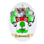 Flannery Ornament (Oval)