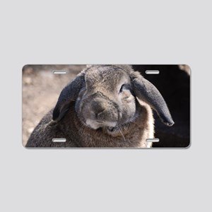 Lop Eared Rabbit Aluminum License Plate